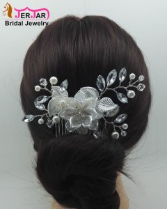 Fashion Bridal Hair Combs Luxury Wedding Hair Jewelry Party Headpiece Elegant Women Headwear Ornaments Accessories for Prom