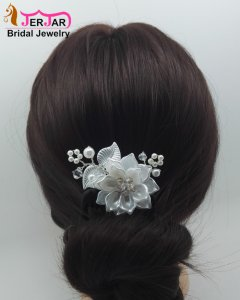 Elegant Pearl Bridal Hair Combs Luxury Wedding Hair Jewelry Fashion Party Headpiece Women Headwear Ornaments Accessories
