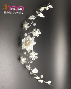 New Fashion Bridal Silver Headbands Bridesmaid Hairband Delicated Hair Jewelry Ornament Accessories for Women Prom Party