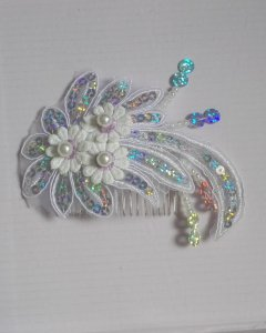 2018 New Fashion Silver Hair Jewelry Bridal Haircomb Headpiece Accessories for Women Prom Party Anniversary Engagement Gift