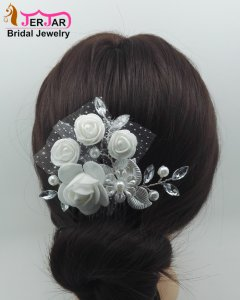 Luxury Bridal Hair Combs Wedding Hair Jewelry Women Headpiece Elegant Headwear Fashion Ornaments Accessories for Prom Party