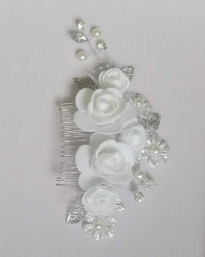 2018 Fashion Bridal Haircomb Silver Hair Jewelry Headpiece Accessories for Women Wedding Prom Party Anniversary Gift