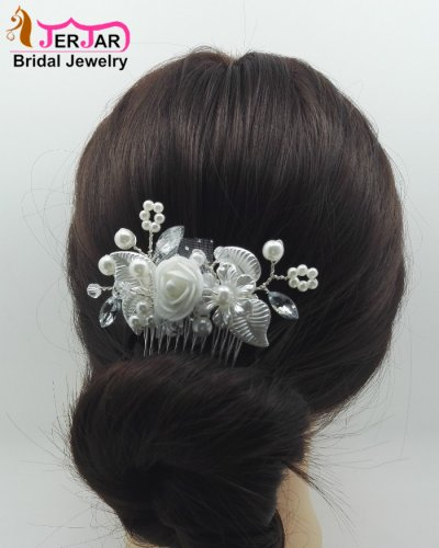 Women Bridal Hair Combs Luxury Wedding Hair Jewelry Fashion Party Headpiece Elegant Headwear Ornaments Accessories for Prom