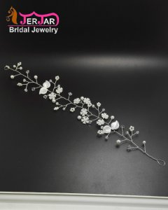 New Fashion Bridal Headbands Bridesmaid Hairband Delicated Silver Hair Jewelry Women Headpiece Ornament Accessories for Prom Party