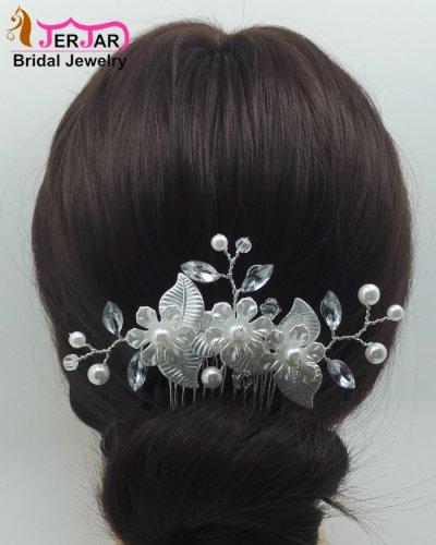 Luxury Bridal Hair Combs Hair Jewelry Women Wedding Headpiece Elegant Headwear Fashion Ornaments Accessories for Prom Party