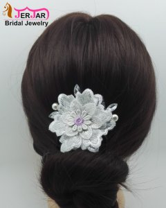 New Bridal Embroidery Hair Jewelry Fashion Hair Combs Women Headpiece Wedding Headwear Accessories Luxury Party Ornaments