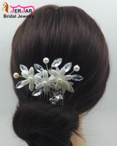 Luxury Bridal Hair Combs Wedding Hair Jewelry Fashion Headpiece Elegant Women Headwear Ornaments Accessories for Prom Party